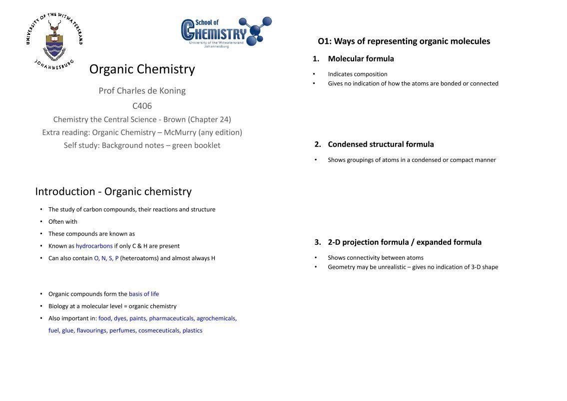 Organic chemis Term paper Sample - followthesalary com