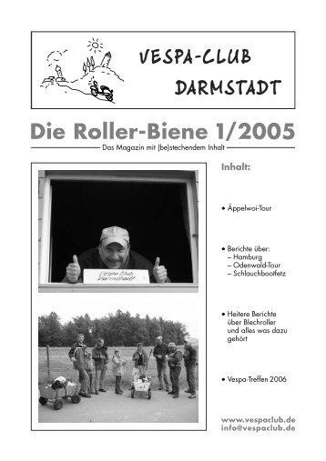 Die Roller-Biene 1/2005 - Vespa-Club Darmstadt eV