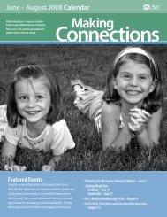 June – August 2008 Calendar - Arc Greater Twin Cities