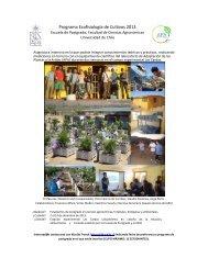 Programa Ecofisiología de Cultivos 2013 - Universidad de Chile