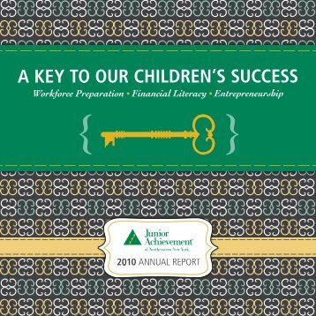 to our Investors, Volunteers and Supporters - Junior Achievement of ...