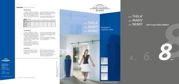 sgg thela® sgg maris® sgg thela® sgg maris - Glas Herzog GmbH
