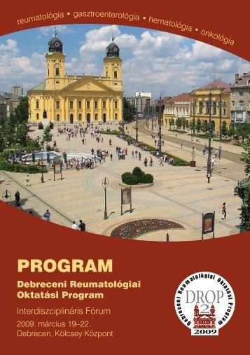 PROGRAM - Magyar Reumatológusok Egyesülete
