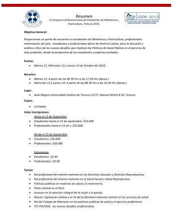Descargar Resumen PDF - Med.ufro.cl - Universidad de La Frontera