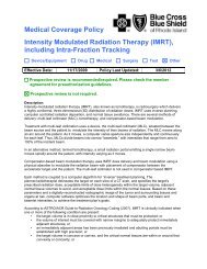 Intensity Modulated Radiation Therapy (IMRT)