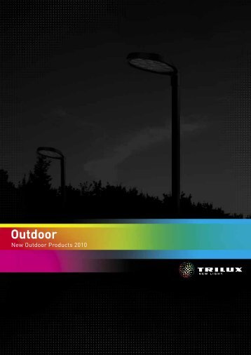 Outdoor - New Outdoor Products 2010 - Proljus AB