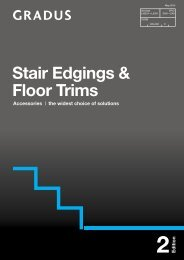 Stair Edgings & Floor Trims - Contract Interior Solutions