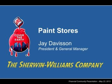Paint Stores - Sherwin-Williams