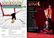 Die Absolventenshow 2012 der Staatlichen Schule für ... - Circus Luna