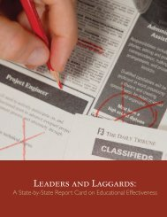 LEADERS AND LAGGARDS: - California Postsecondary Education ...