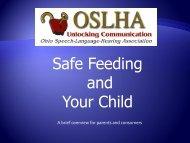 Choking Hazards and Safe Feeding Techniques Presentation