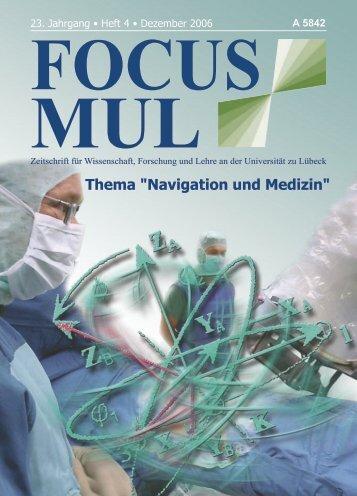 """Thema """"Navigation und Medizin"""" - Universität zu Lübeck"""