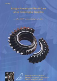 S ervice failures of engineering components - National Aerospace ...