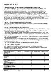 MERKBLATT FOS 13 - Berufsschule, BOS und FOS Kelheim