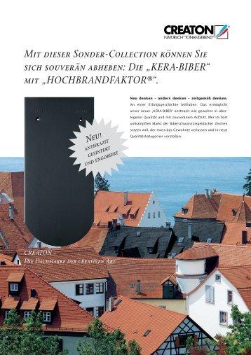 "Die ""KERA-BIBER"" - Creaton AG"