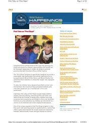 November 2010 - Happenings - Hillel Yeshiva School
