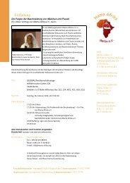 Einladung Video Vortrag - FPZ