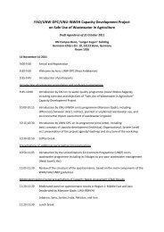 Draft agenda as of 21 October 2011 (PDF, 524 kB) - The Water ...