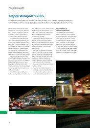 Kemira Ympäristöraportti 2005
