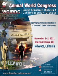 more info - The International Committee for Insulin Resistance