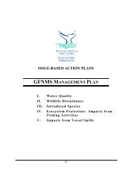 gfnms management plan - Gulf of the Farallones National Marine ...