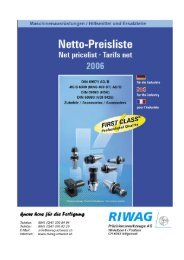 Titel NETTO06 - Riwag Präzisionswerkzeuge AG
