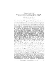 Dimensionen des Wandels im geteilten Europa (1950-1989)