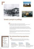 Podłogi laminowane - Tarkett produkty mieszkaniowe - Page 2
