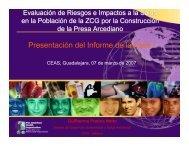 Presentación del Informe de la Primera Fase - Comisión Estatal del ...