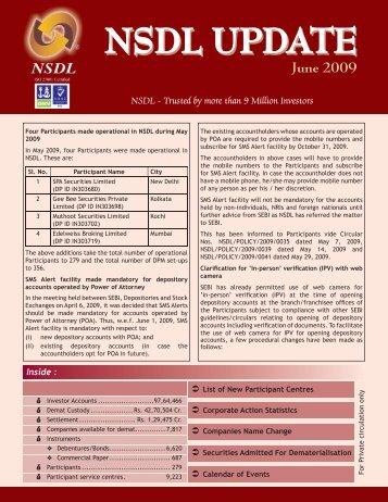 June 2009 - NSDL