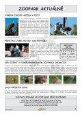 OÁZA č. 3/2009 - pdf ke stažení - Podkrušnohorský Zoopark Chomutov - Page 5