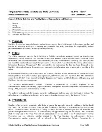 purpose of policies and procedures pdf