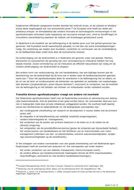 Download het volledige advies 'Europees landbouwbeleid'