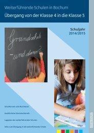 Weiterführende Schulen in Bochum