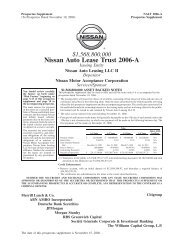 Nissan Auto Lease Trust 2006-A