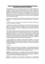 Proyectoacuerdomodif.. - Colegio de Doctores y Licenciados