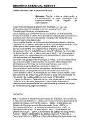 DECRETO ESTADUAL 6254/12 - COLIT