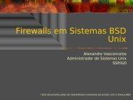 Firewalls em Sistemas BSD Unix