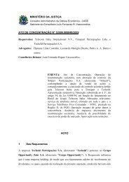Rigato - Conselho Administrativo de Defesa Econômica