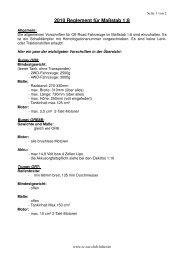 1-8 Reglement 2010 - rc car club hilter ev