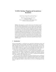 Ontology Mapping and Inconsistency Resolution - ResearchGate