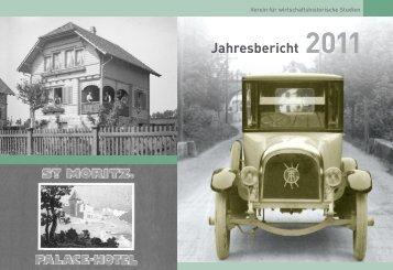 Jahresbericht 2011 - Verein für wirtschaftshistorische Studien