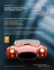 Duratec In-Mold car flyer - Hawkeye Industries