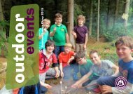 Outdoor events diary