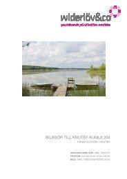 BILAGOR TILL KNUTBY-KUMLA 204 - Widerlöv & Co