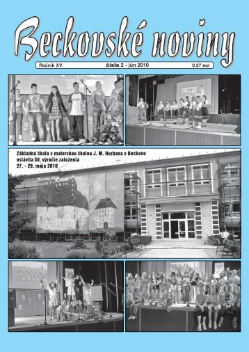 Základná škola s materskou školou JM Hurbana v - Obec Beckov