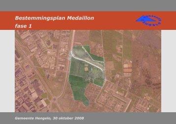 Bestemmingsplan Medaillon fase 1 - Gemeente Hengelo