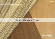 Wood Veneers Chart - Armstrong