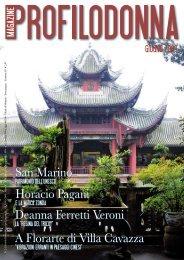 Giugno 2009 - Profilo Donna Magazine
