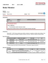 Brake Vibration - Pro-Cut USA On-Car Brake Lathes
